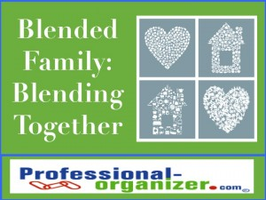 blended family blending together