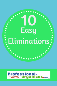 10 easy eliminations