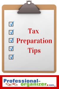 Tax preparation tips