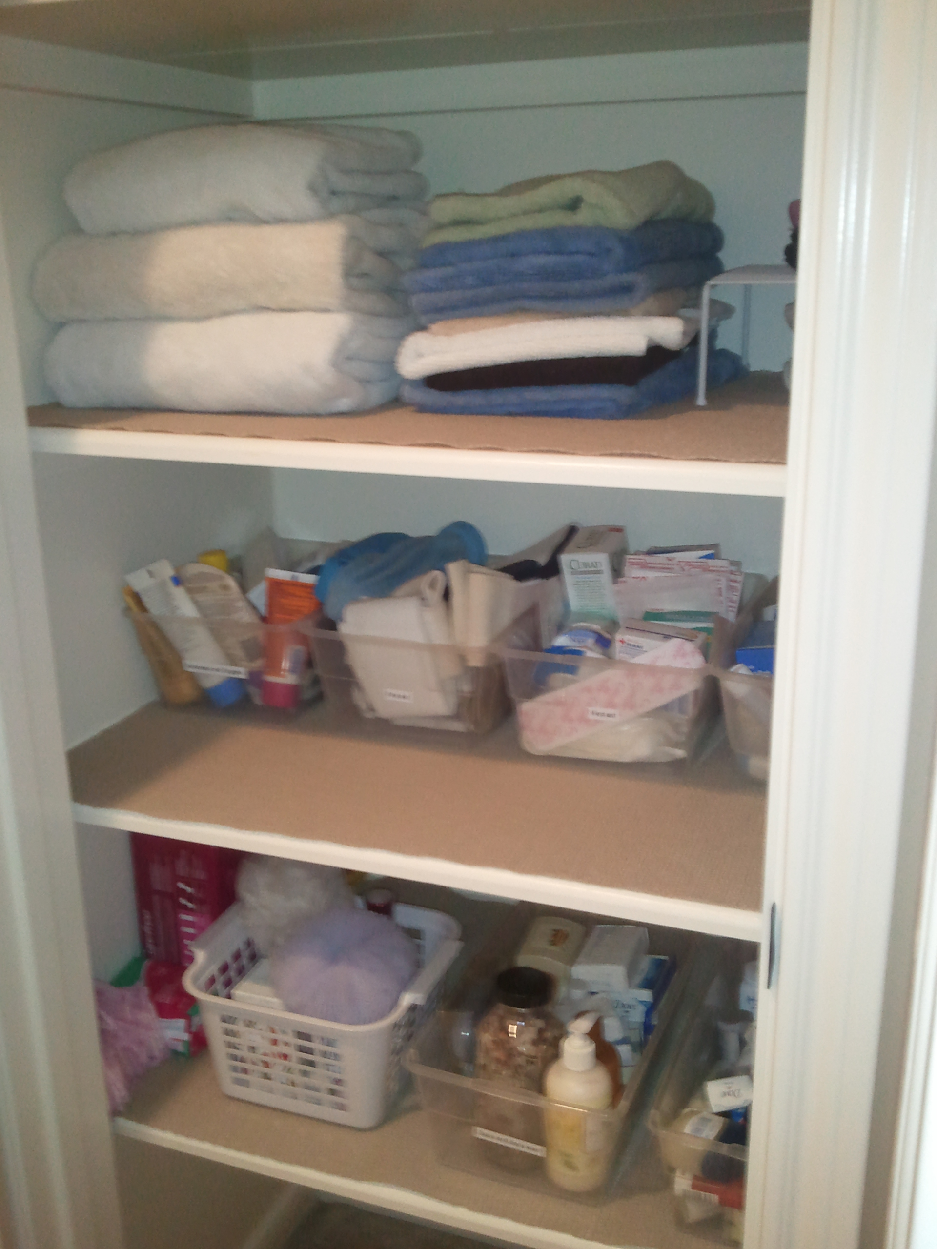 How To Organize Your Linen Closet Archives Ellen S Blog Professional Organizing For Kingwood
