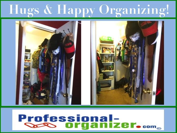 Hugs And Happy Organizing Teen Closet