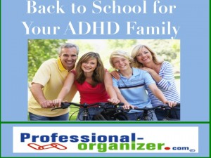 Back to School for your ADHD Family