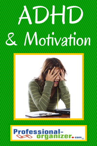 ADHD and motivation