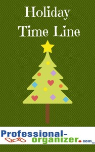 holiday time line