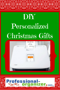 DIY Personalized Christmas gifts