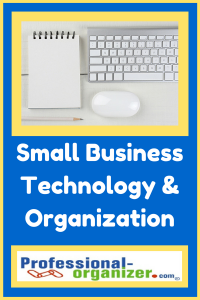 small business technology and organization