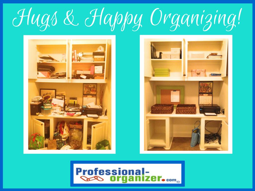 Hugs And Happy Organizing Archives Ellen S Blog