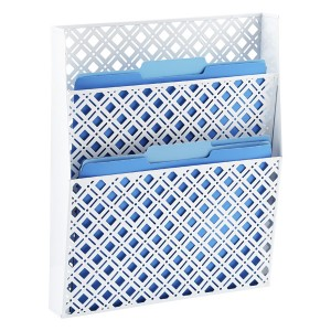 Container Store wall pocket paper management