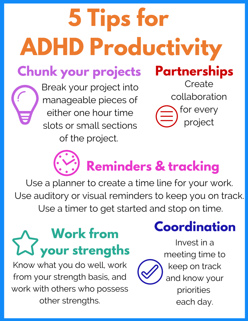 Organizer adhd planner focus adults