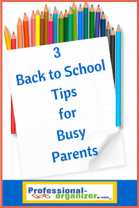 back to school tips for busy parents