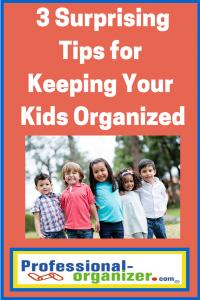 organizing your kids