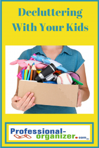 decluttering with your kids