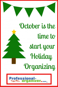 holiday organizing