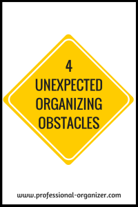 obstacles to organizing