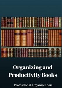 organizing and productivity books