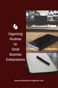 smalll business routines