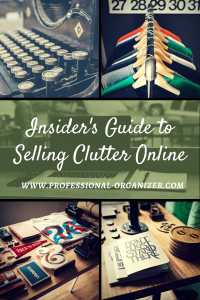 insider guide to selling clutter online