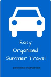 easy organized summer travel