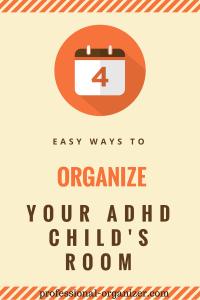 organize your adhd child