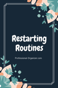Restarting routines