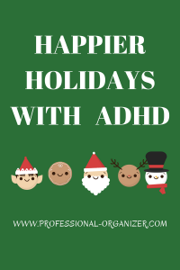 happier holidays with adhd