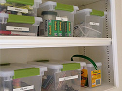 Pantry or Storage Organizing.